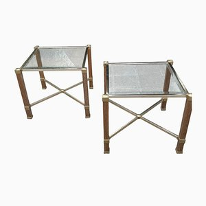 Tables d'Appoint Vintage par Pierre Vandel, Set de 2