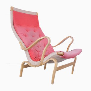 Chaise longue Pernilla di Bruno Mathsson per Dux, anni '60
