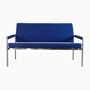 Vintage Scandinavian Blue 3-Seater Sofa by Jørgen Stærmose for Fritz Hansen, 1970s