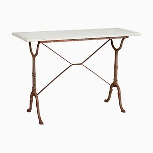 Table d'Appoint Antique en Fonte