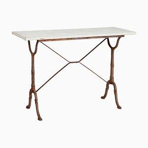 Tavolino antico in ghisa