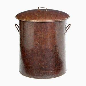 Pot à Lait Antique en Cuivre