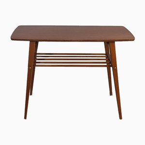 Table d'Appoint Scandinave Vintage en Teck, 1960s