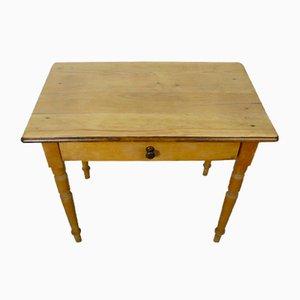 Tavolo da bambino antico in legno, inizio XX secolo