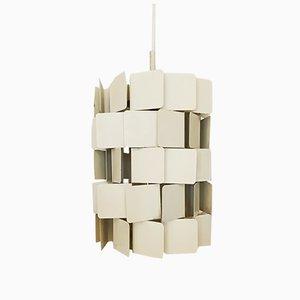 Lampe à Suspension en Métal par Louis Weisdorf pour Lyfa, Danemark, 1960s