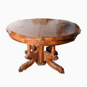 Table de Salle à Manger Antique, Italie, 1870s