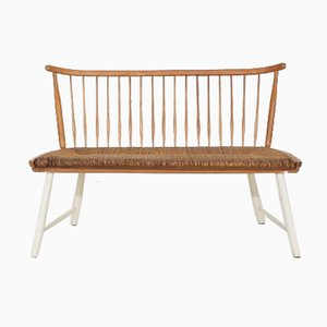 German Bench by Arno Lambrecht for WK Möbel, 1960s