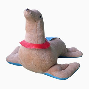 Large German Seal Therapeutic Toy by Renate Müller for Sonneberg, 1970s