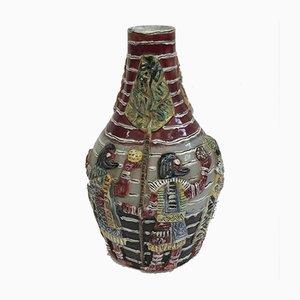 Jarrón veneciano de cerámica, años 50