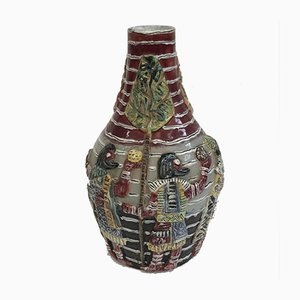 Venezianische Keramikvase, 1950er