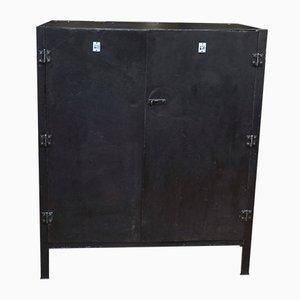 Mueble industrial de metal, años 50