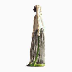 Sculpture en Céramique par Mari Simmulson pour Upsala Ekeby, Suède, années 50