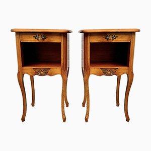 Tables de Chevet Vintage, France, Set de 2