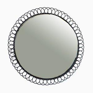 Espejo de metal, años 50