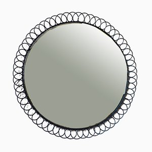 Miroir en Métal, années 50