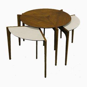 Table Basse T-Modulable par Vladimir Kagan, années 50