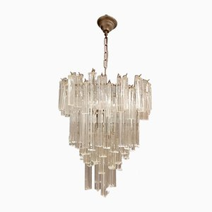 Murano Glass Prism Chandelier by Paolo Venini for Murano, 1960s