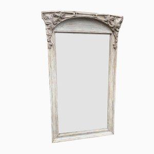 Miroir Colonial Ancien Peint, France