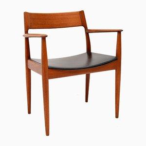Danish Teak Armchair by Arne Hovmand-Olsen for Mogens Kold, 1960s