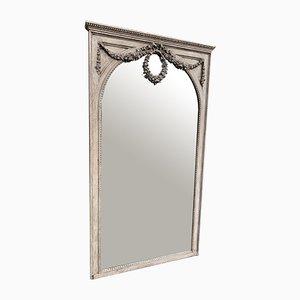 Miroir Ancien en Bois Courbé et Gesso, France