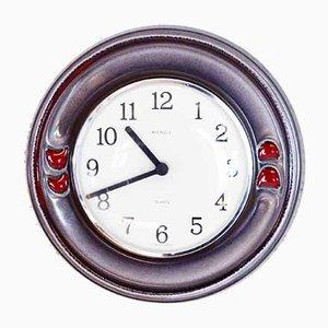 Reloj alemán de cerámica de Kienzle International, años 60