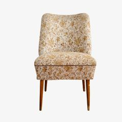 Floral Easy Chair, 1970s