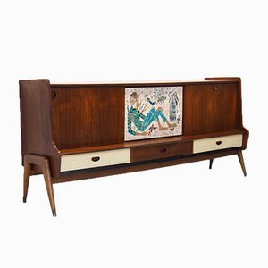 Belgian Sideboard by Oswald Vermaercke for V-Form, 1950s