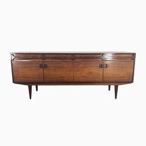 Long Brazilian Rosewood Sideboard by Alfred Cox, 1960s