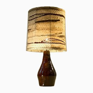 Table Brutalist Ceramic Table Lamp by JPR, 1950s