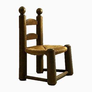 Petite Chaise d'Appoint, France, années 50