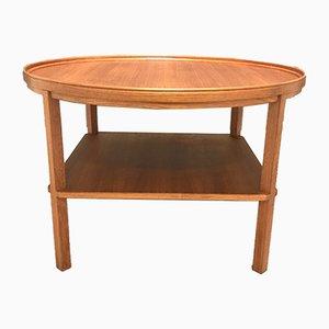 Table Basse Modèle 6687 en Teck par Kaare Klint pour Rud., Danemark Rasmussen, années 40