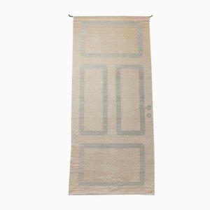 Swedish Linen Tapestry, 1980s