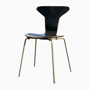 Sedia da pranzo nr. 3105 Mid-Century di Arne Jacobsen per Fritz Hansen