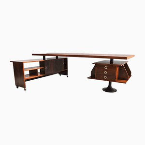 Desk by Ico Luisa Parisi, 1950s