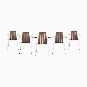 Terrace or Garden Chairs from Daneline, 1970s, Set of 6