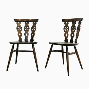 Windsor Dining Chairs by Lucian Ercolani for Ercol, 1970s, Set of 6