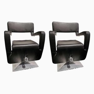 Styling Salon Chairs by Porsche for Gamma & Bross, 1990s, Set of 2