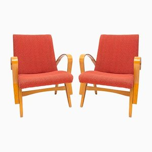 Lounge Chairs by František Jirák for Tatra, 1960s, Set of 2