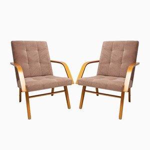 Armlehnstühle, 1970er, 2er Set