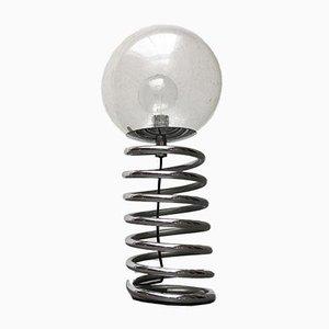 Deutsche Space Age Spiral Stehlampe von Staff, 1970er