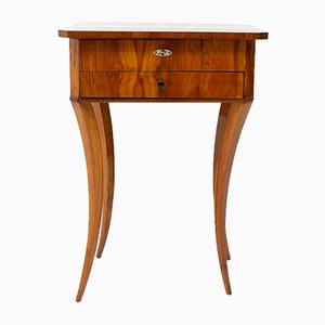 Antique Biedermeier Sewing Table