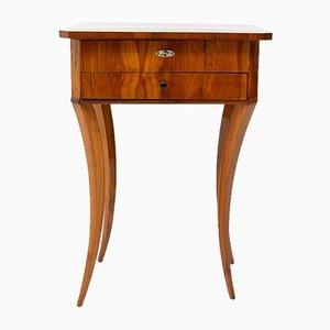 Antique Biedermeier Sewing Table