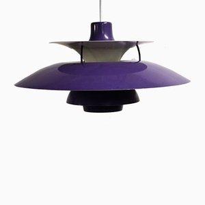 Lampada da soffitto PH5 di Poul Henningsen per Louis Poulsen, anni '70