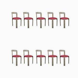 Chaises de Salle à Manger par Bruno Rey pour Kusch + Co, années 60, Set de 10