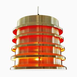 Lámpara de techo de Carl Thore / Sigurd Lindkvist para Granhaga Metallindustri, 1964