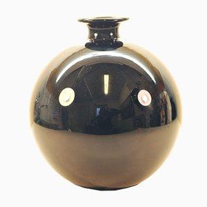 Mid-Century Pukeberg Glass Vase by Bo Notini