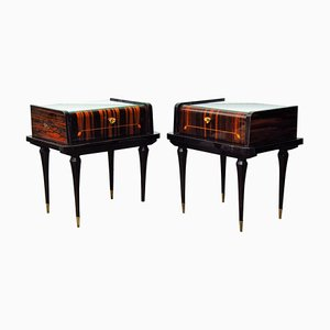 French Nightstands, 1948, Set of 2