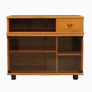 Mueble para la televisión danés de teca, años 60