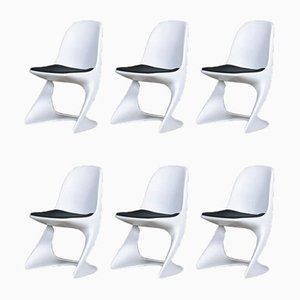 Mid-Century Dining Chairs by Alexander Begge for Casala, Set of 6
