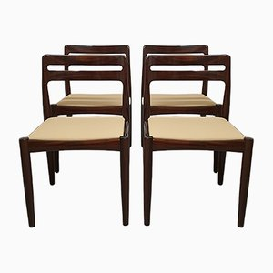 Mid-Century Dining Chairs by H. W. Klein for Bramin, Set of 4